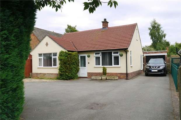 2 Bedrooms Detached Bungalow for sale in Gores Lane, Market Harborough, Leicestershire