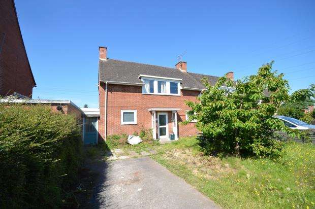 3 Bedrooms Semi Detached House for sale in Topsham Road, Countess Wear, Exeter, Devon