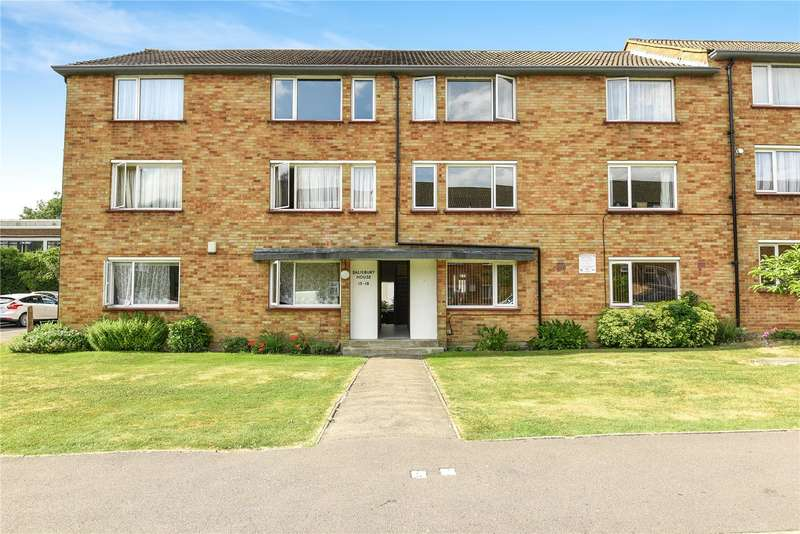 2 Bedrooms Apartment Flat for sale in Salisbury House, Rodwell Close, Eastcote, Middlesex, HA4