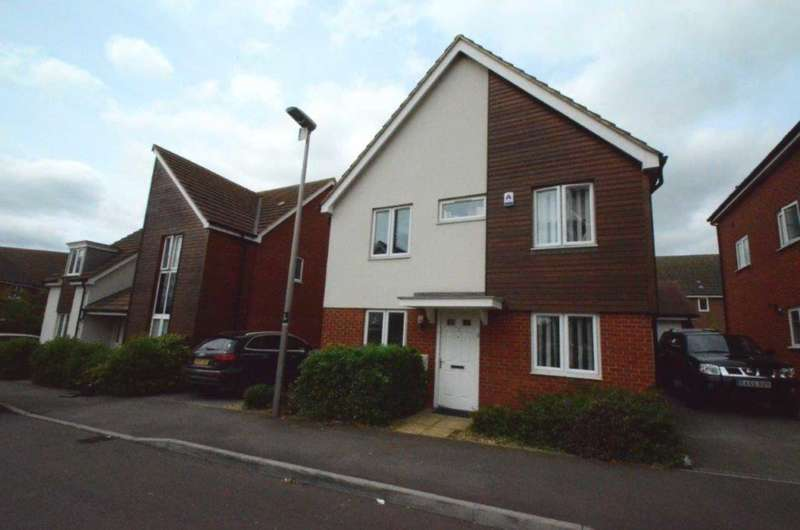 4 Bedrooms Detached House for sale in Corfe Meadows, Broughton