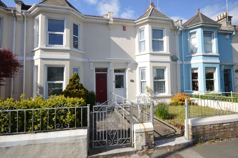 3 Bedrooms Terraced House for sale in St. Levan Road, Plymouth, Devon, PL2