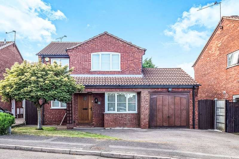 4 Bedrooms Detached House for sale in Squires Croft, Coventry, CV2