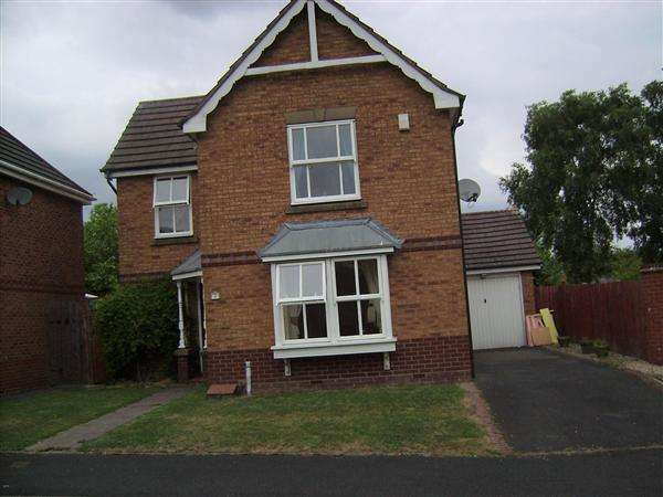 3 Bedrooms Detached House for sale in Sulgrave Close, Dudley