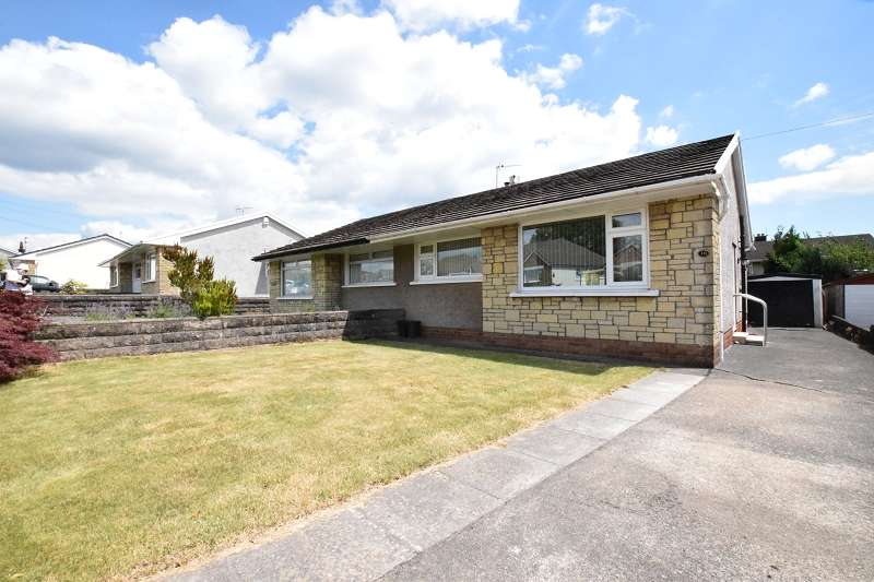 2 Bedrooms Semi Detached Bungalow for sale in Heol Mabon , Rhiwbina, Cardiff. CF14 6RL