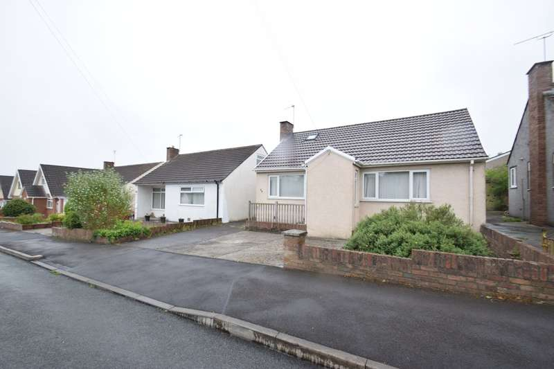 2 Bedrooms Detached Bungalow for sale in 34 Greenfields Avenue, Bridgend, Bridgend County Borough, CF31 4SR.