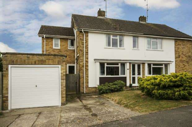 4 Bedrooms Semi Detached House for sale in Allendale Road, Earley, Reading