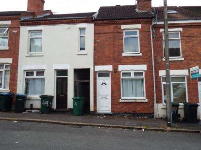 2 Bedrooms Terraced House for sale in Leopold Road, Coventry, West Midlands