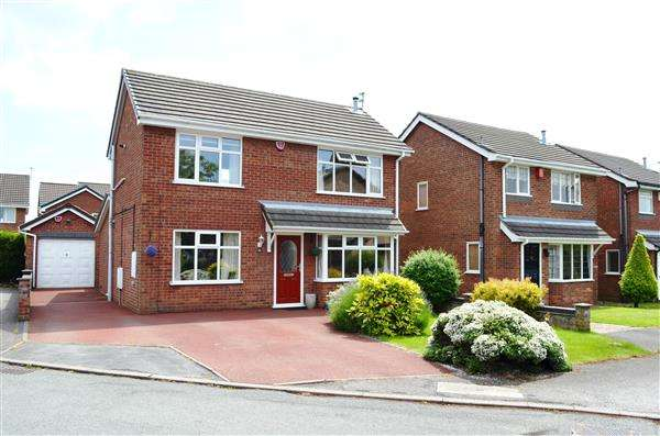 3 Bedrooms Detached House for sale in Bladon Avenue, Westbury Park, Newcastle