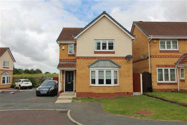 3 Bedrooms Detached House for sale in Ambleside Drive, Kirkby