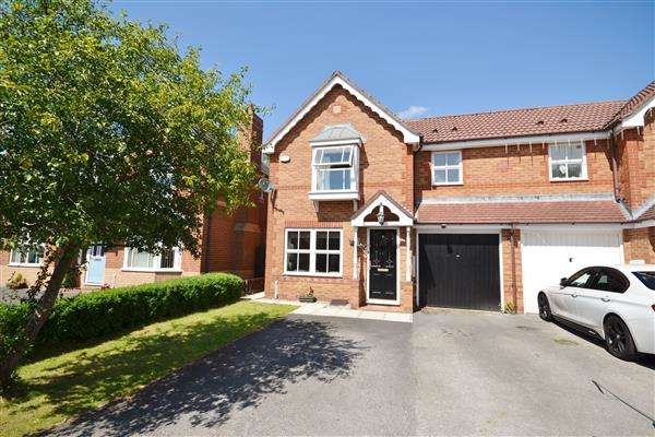 3 Bedrooms Semi Detached House for sale in St Andrews Close, Euxton, Chorley