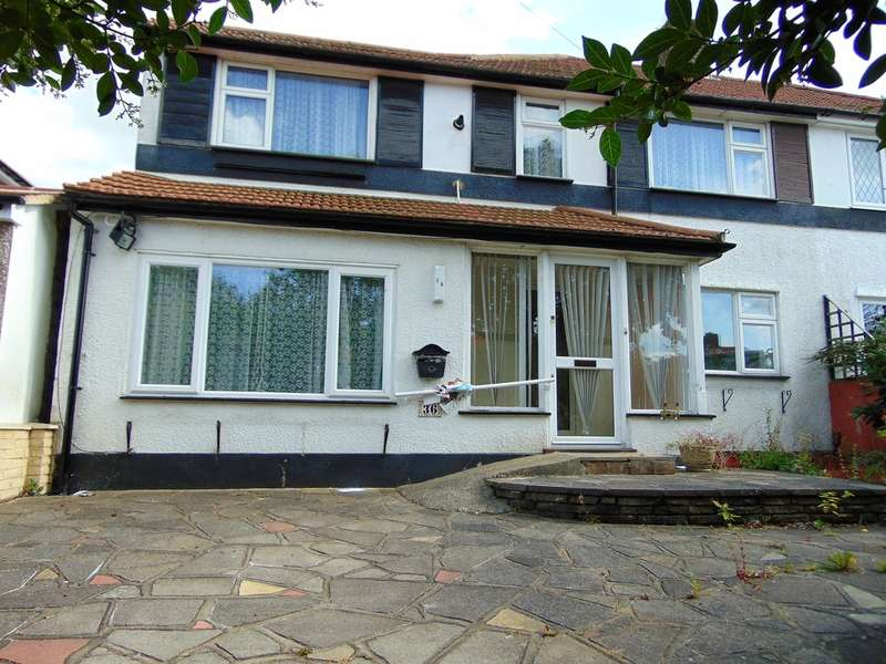 3 Bedrooms Semi Detached House for sale in Shaxton Crescent, New Addington, Croydon, CR0 0NU