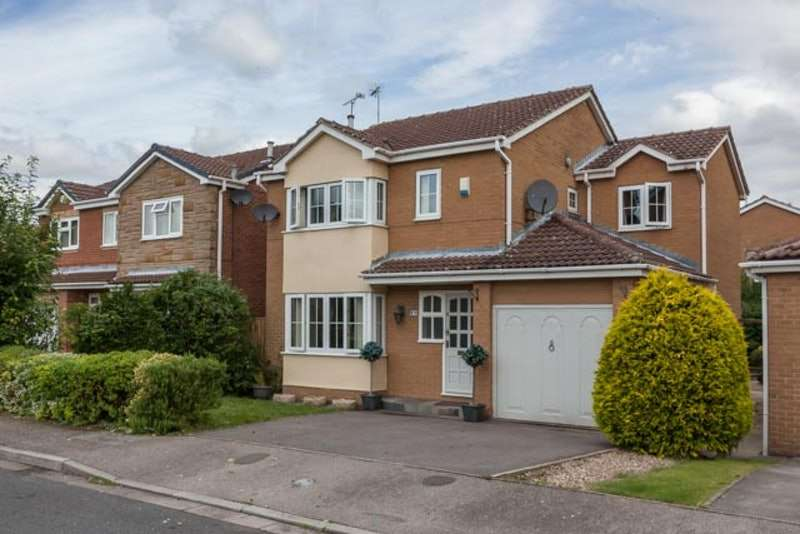4 Bedrooms Detached House for sale in Rutland Road, Retford, Nottinghamshire, DN22