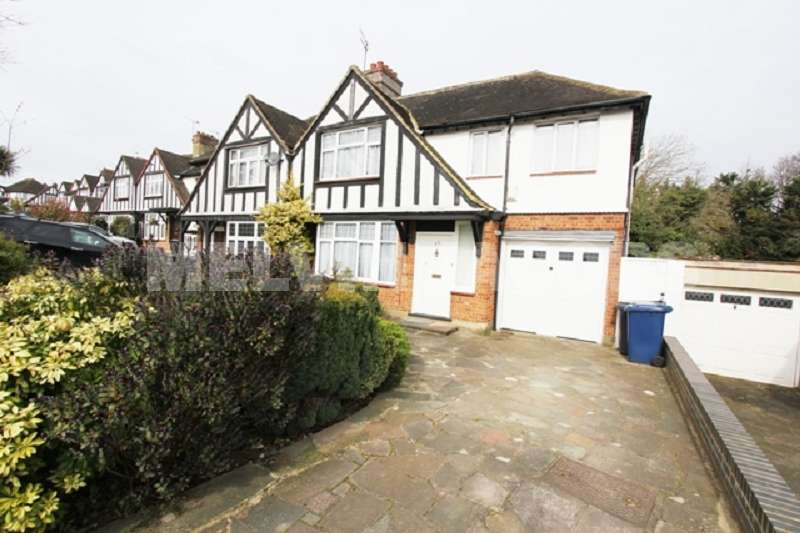4 Bedrooms Semi Detached House for sale in Ranelagh Drive, Edgware, Greater London. HA8 8HJ