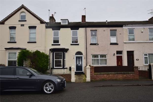 2 Bedrooms Terraced House for rent in New Ferry Road, New Ferry, Wirral
