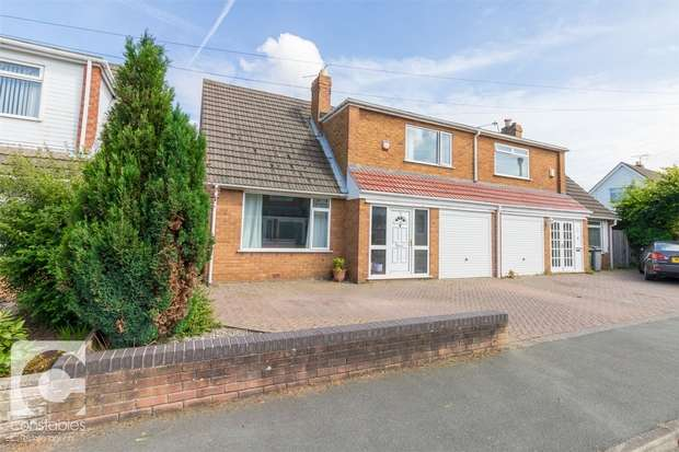 3 Bedrooms Semi Detached House for sale in Sunningdale Drive, Heswall, Wirral, Merseyside