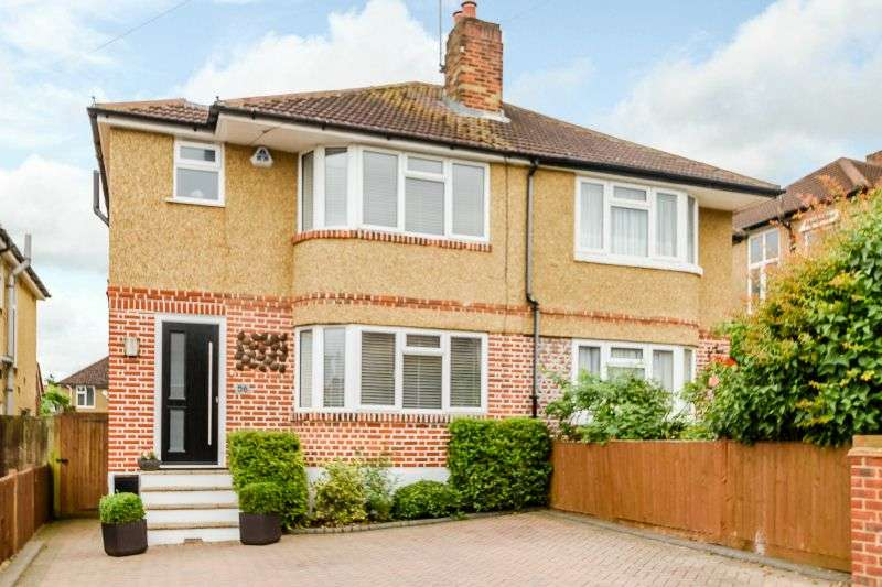 3 Bedrooms Semi Detached House for sale in Beechcroft Avenue, Croxley Green, Hertfordshire, WD3