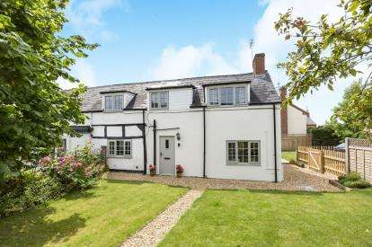 3 Bedrooms Semi Detached House for sale in Forge Cottages, Cotheridge Lane, Eckington, Pershore