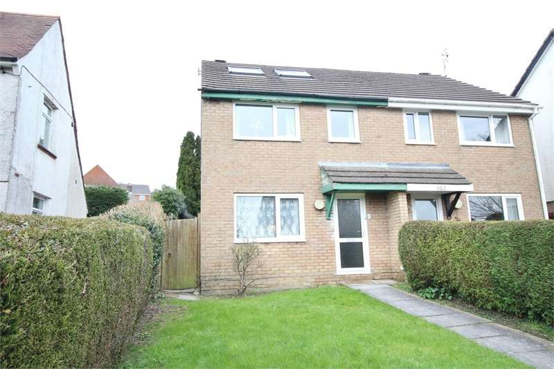 3 Bedrooms Semi Detached House for sale in Pontymason Lane, Rogerstone, Newport, NP10