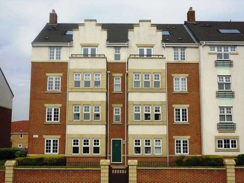 2 Bedrooms Apartment Flat for sale in Linacre House, Archdale Close, Chesterfield