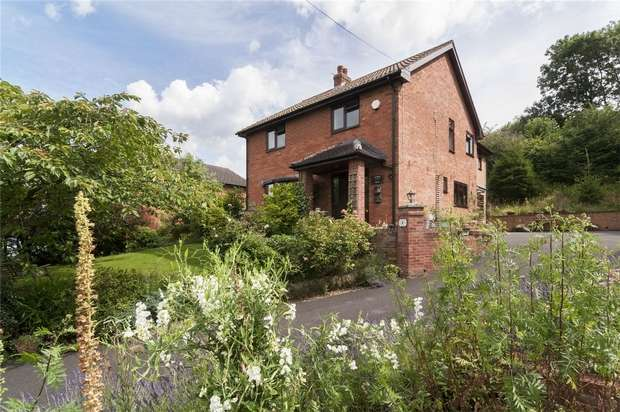 4 Bedrooms Detached House for sale in Orchard House, Steventon New Road, Ludlow, Shropshire
