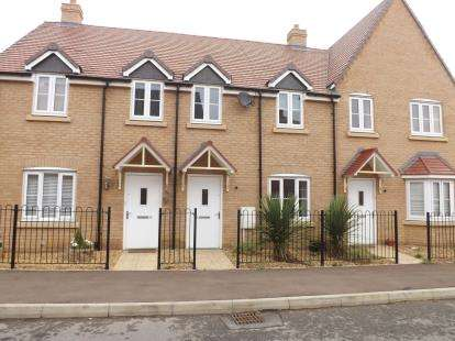 3 Bedrooms Terraced House for sale in Sanger Avenue, Biggleswade, Bedfordshire