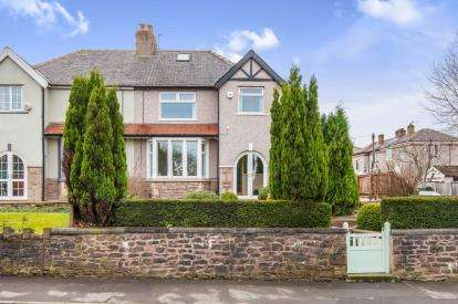 3 Bedrooms Semi Detached House for sale in Red Lees Road, Burnley, Lancashire, BB10