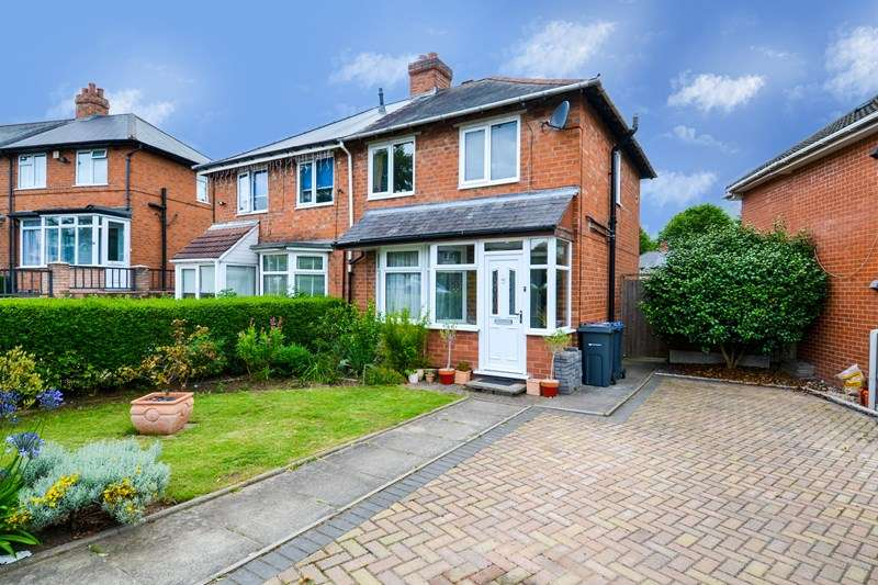 2 Bedrooms Semi Detached House for sale in Elmdale Crescent, Northfield, Birmingham