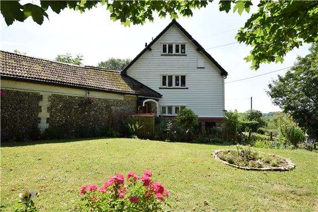 5 Bedrooms End Of Terrace House for sale in Cudham Lane South, Cudham, SEVENOAKS, Kent, TN14