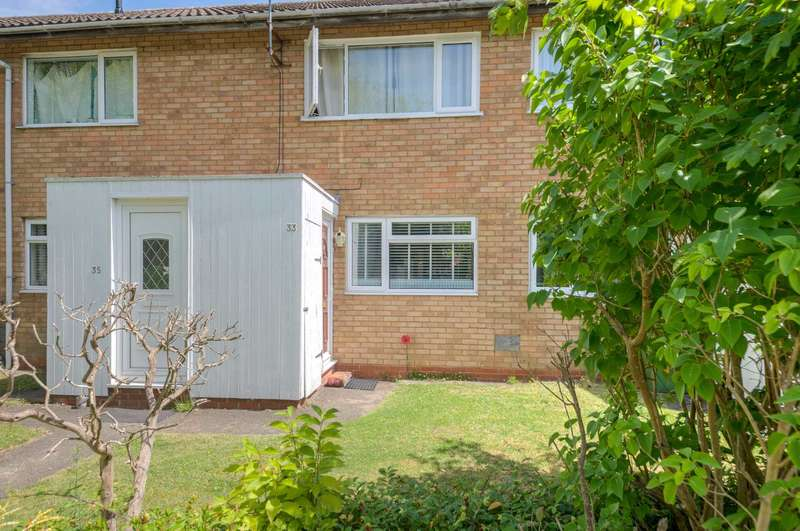 2 Bedrooms Maisonette Flat for sale in Rowle Close, Stantonbury