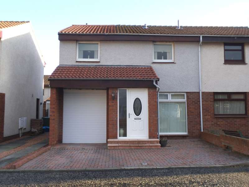 3 Bedrooms Semi Detached House for sale in 22 Forth Court, Port Seton, Prestonpans, EH32 0TN