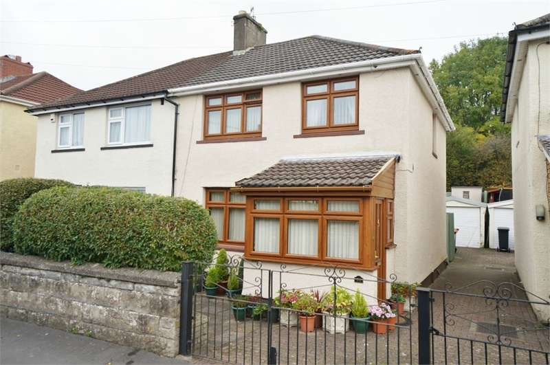 3 Bedrooms Semi Detached House for sale in Graig Park Avenue, Newport, NP20