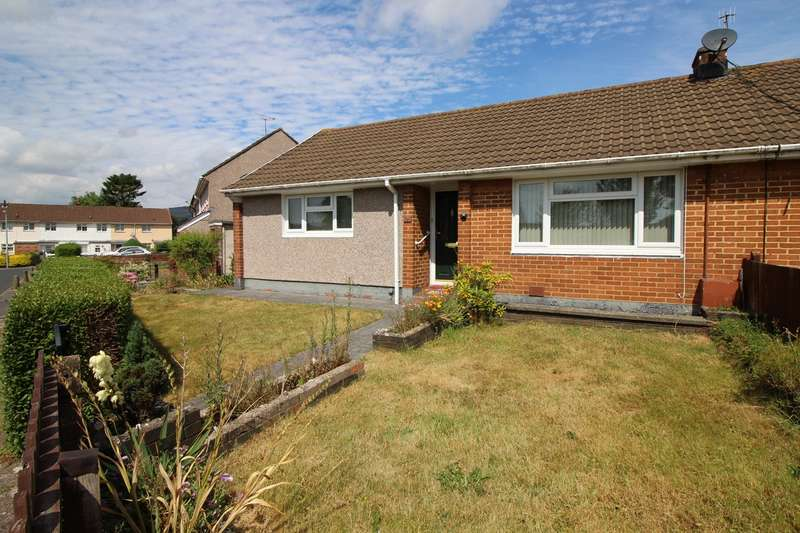 2 Bedrooms Semi Detached Bungalow for sale in Gainsborough Close, Llantarnam, Cwmbran, NP44
