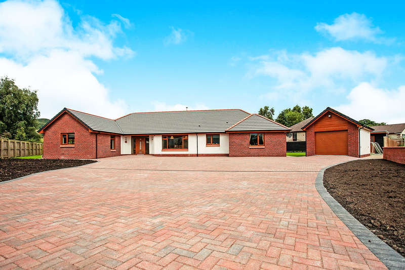 4 Bedrooms Detached Bungalow for sale in Valleyfield Meadow, Terregles, Dumfries, DG2