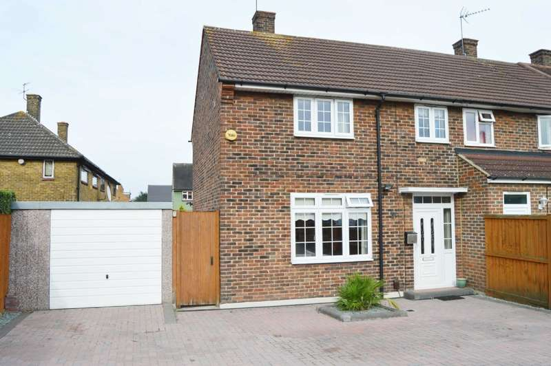 3 Bedrooms End Of Terrace House for sale in Straight Road, Harold Hill