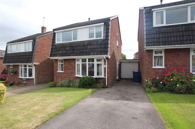 3 Bedrooms Link Detached House for sale in York Close, Lichfield, Staffordshire