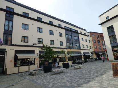 2 Bedrooms Flat for sale in Napoleon House, 4 Livery Street, Leamington Spa, Warwickshire