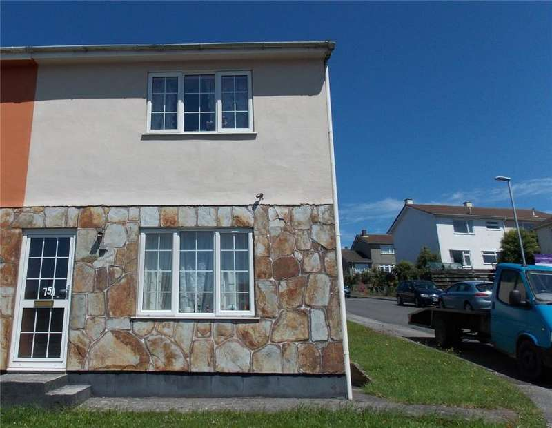 2 Bedrooms Semi Detached House for sale in South Park, Redruth, Cornwall