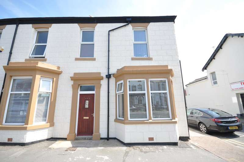 3 Bedrooms End Of Terrace House for sale in Lytham Road, Blackpool, Lancashire, FY1 6EX