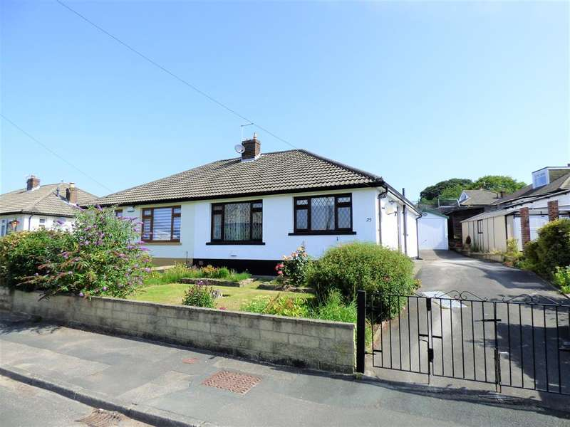 2 Bedrooms Semi Detached Bungalow for sale in Aireville Drive, Silsden