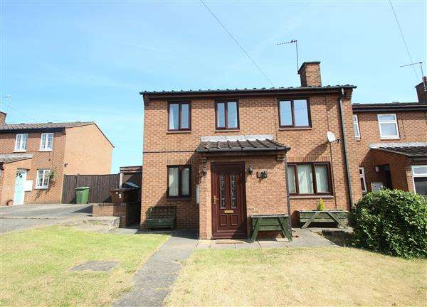 2 Bedrooms Terraced House for sale in Oak Tree Grove, Hemsworth