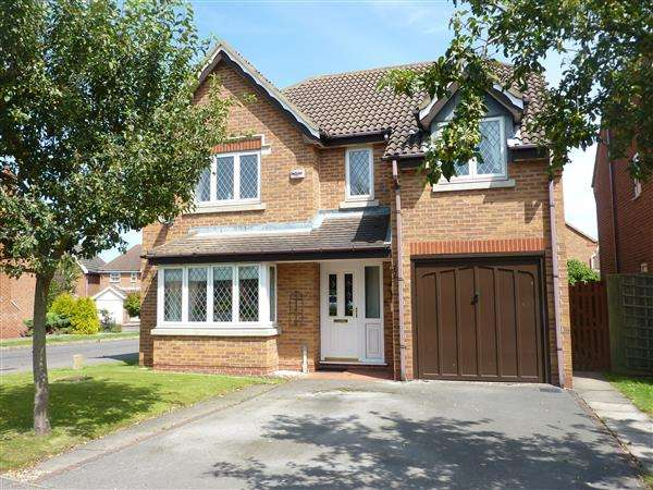 4 Bedrooms Detached House for sale in SNOWDROP CLOSE, HEALING, GRIMSBY