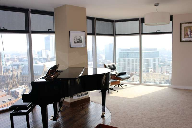 3 Bedrooms Flat for rent in Great Northern Tower 20th Floor, Watson Street, Manchester