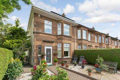 3 Bedrooms End Of Terrace House for sale in Nether Auldhouse Road, NEWLANDS, Glasgow