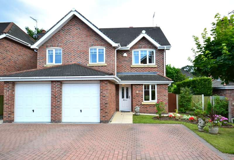 5 Bedrooms Detached House for sale in Sandpiper Close, Tytherington