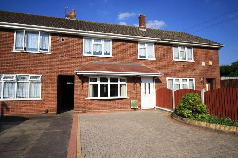 3 Bedrooms Town House for sale in Humphries crescent, Bradley bilston, West Midlands, WV14