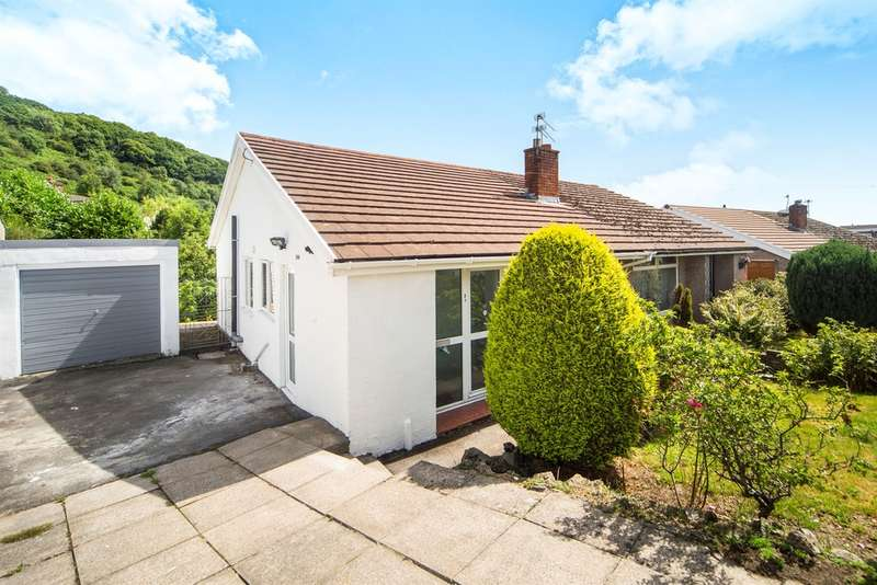 2 Bedrooms Semi Detached Bungalow for sale in Southgate Avenue, Llantrisant, Pontyclun