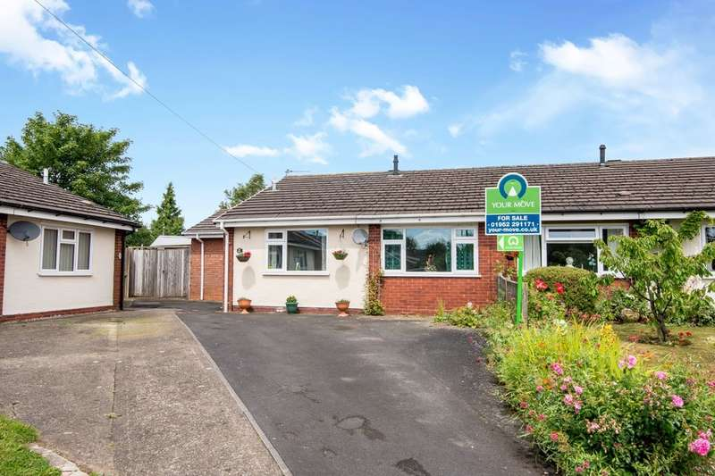 2 Bedrooms Semi Detached Bungalow for sale in Regent Drive, St. Georges, Telford, TF2
