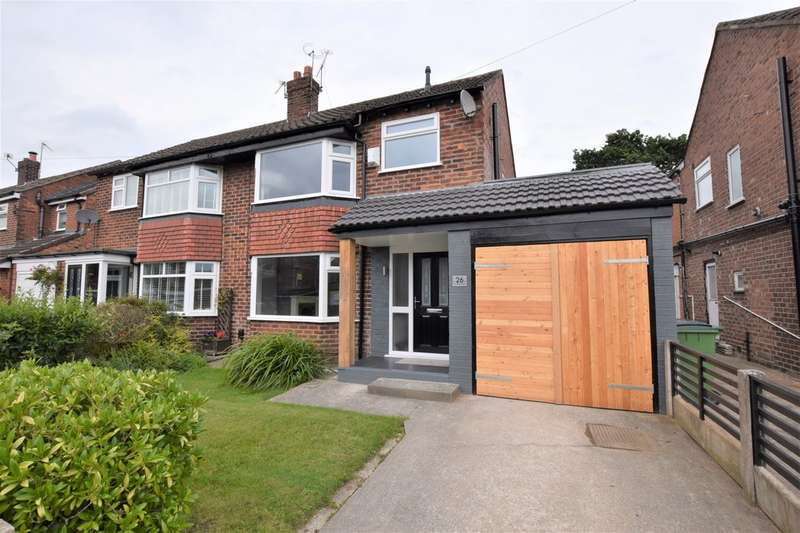3 Bedrooms Semi Detached House for sale in Rushfield Road, Cheadle Hulme