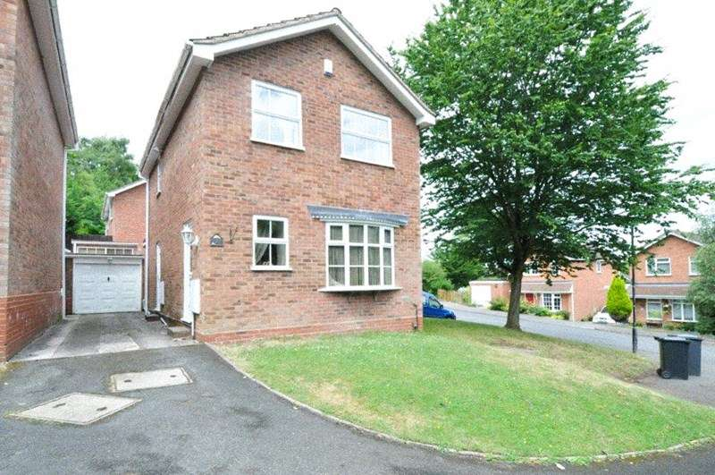 3 Bedrooms Detached House for sale in Painswick Close, Oakenshaw, Redditch