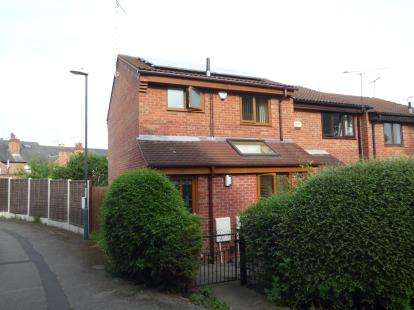 3 Bedrooms End Of Terrace House for sale in Sherwood Street, Derby, Derbyshire